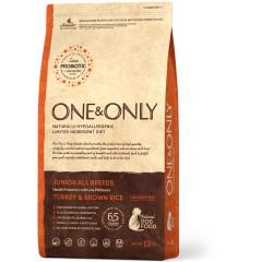 One & Only Turkey & Rice JUNIOR All Breeds - Индейка с рисом для юниоров всех пород - 12 кг