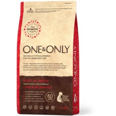 One & Only - Lamb & Rice Adult All Breeds - Ягненок с рисом для взрослых собак всех пород -  3 кг
