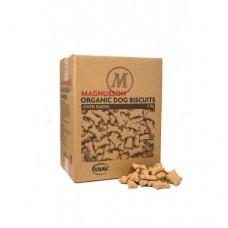 Печенье Magnussons Organic Dog Biscuits  - Small bone (original)  - 5 кг -Запеченное, низкокалорийное лакомство из сушеной говядины