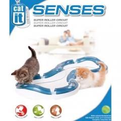 Двойной игровой круг Catit Design Senses - Волнистая дорожка со светящимися шариками