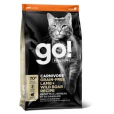 Корм GO! беззерновой корм для котят и кошек, с ягненком и мясом дикого кабана, GO! CARNIVORE GF Lamb + Wild Boar - 7,26 кг