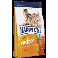 Happy Cat Сухой корм для кошек Indoor Атлантический лосось 1,4кг