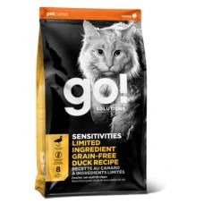 Корм GO! беззерновой для котят и кошек с чувствительным пищеварением, со свежей уткой, Sensitivity + Shine Grain Free Duck Cat Recipe - 7,26 кг