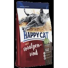 Happy Cat Сухой корм для кошек Adult Альпийская говядина 10кг