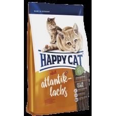 Happy Cat Сухой корм для кошек Adult Атлантический лосось 4кг