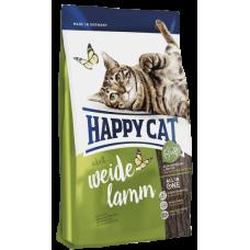 Happy Cat Сухой корм для кошек Adult Пастбищный ягненок 4кг