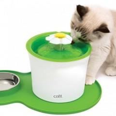 Коврик для фонтанов с миской Catit, зеленый