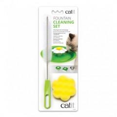 Набор для чистки фонтанов Catit ершик и губка