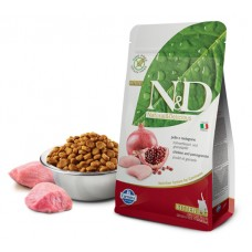 N&D Cat Chicken & Pomegranate Kitten - 10 кг - Курица, гранат - корм для котят, беременных и лактирующих кошек.