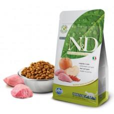 N&D Cat Boar & Apple Adult - 0,3 кг - Кабан, яблоко - Полнорационный для взрослых кошек.