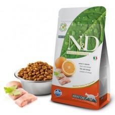 N&D Cat Fish & Orange Adult - 5 кг - Рыба и апельсин - для взрослых кошек