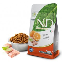 N&D Cat Fish & Orange Adult - 0,3 кг - Рыба и апельсин - для взрослых кошек