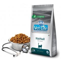 Vet Life Cat Hairball - 0,4 кг - для выведения шерстяных комочков для взрослых кошек