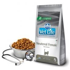 Vet Life Cat Neutered Female - 10 кг - для стерилизованных кошек