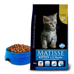 Matisse Kitten - 0,4 кг - Полнорационный корм для котят, беременных и кормящих кошек.