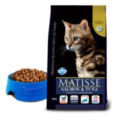 Matisse Salmon & Tuna - 20 кг - лосось и тунец для взрослых кошек