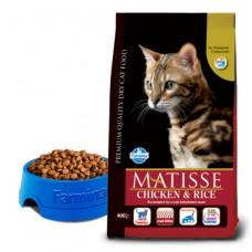 Matisse Chicken & Rice - 0,4 кг - Курица и рис, полнорационный сбалансированный корм для взрослых кошек