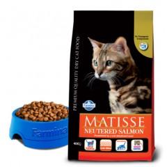 Matisse Neutered Salmon - 1,5 кг - Лосось, для взрослых кастрированных котов и стерилизованных кошек.
