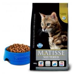 Matisse Neutered - 0,4 кг - корм для взрослых стерилизованных кошек и кастрированных котов