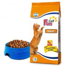 Fun Cat Meat - 2,4 кг - Полнорационный и сбалансированный корм  для взрослых кошек.