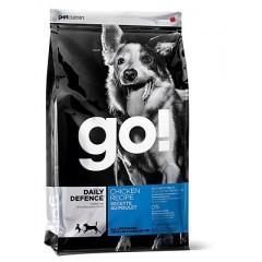 Корм GO! NATURAL Holistic для щенков и собак с цельной курицей, фруктами и овощами - 230 г - DAILY DEFENCE™ Chicken Dog Recipe