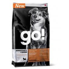 Беззерновой корм для щенков и собак со свежей олениной для чувствительного пищеварения - 1,59 кг - SENSITIVITY + SHINE Venison Recipe DF