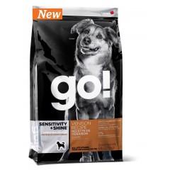 Беззерновой корм для щенков и собак со свежей олениной для чувствительного пищеварения - 230 г - SENSITIVITY + SHINE Venison Recipe DF