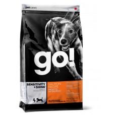 GO! Корм для щенков и собак со свежим лососем и овсянкой - 5,44 кг Sensitivity + Shine Salmon Dog Recipe