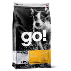 Корм для щенков и собак с цельной уткой и овсянкой - 2,72 кг - Sensitivity + Shine Duck Dog Recipe