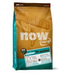 """корм беззерновой """"Контроль веса"""" для собак крупных пород с индейкой, уткой и овощами - 2,72 кг - Fresh Senior Large Breed Recipe Grain Free"""