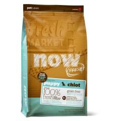 Корм беззерновой для щенков крупных пород с индейкой, уткой и овощами -  2,72 кг - Fresh Puppy Large Breed Recipe Grain Free