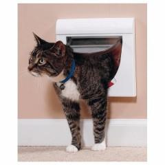 Магнитная дверца для кошек Classic, 4 позиции, магнитный замок