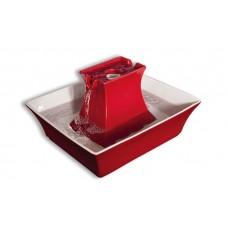 Фонтанчик-поилка Pagoda для кошек и собак керамическая, красная - Drinkwell® - Ceramic Pagoda Pet Fountain - Red