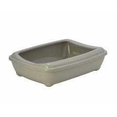 Туалет-лоток большой с рамкой artist large + rim, 57х43х15 jumbo теплый серый