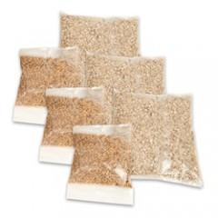 Грунт и семена травы для кошек (3шт)