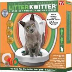Litter Kwitter Feed-Ex Оригинальная система для приучения кошки к туалету