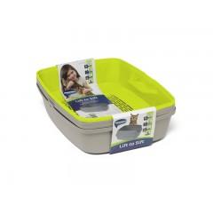 Многофункциональный туалет-лоток для кошек Lift to Sift, 38,4 х 50,2 х 24,1 см