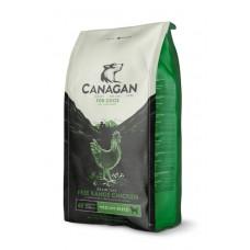 CANAGAN Grain Free, Free-Range Chicken, корм для собак всех возрастов и щенков, Цыпленок - 12 кг