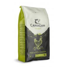 CANAGAN Grain Free, Free-Range Chicken, корм 2 кг для мелких пород собак всех возрастов и щенков, Цыпленок - 2 кг