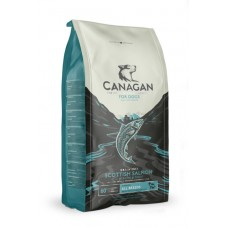 CANAGAN Grain Free, Scottish Salmon, корм для собак всех возрастов и щенков, Шотландский лосось - 6 кг