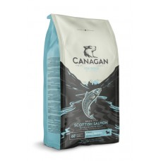 CANAGAN Grain Free, Scottish Salmon, корм для мелких пород собак всех возрастов и щенков, Шотландский лосось - 2 кг