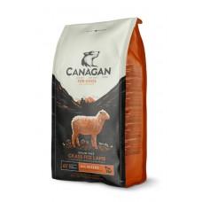 CANAGAN Grain Free, Grass Fed Lamb, корм для собак всех возрастов и щенков, Ягненок - 2 кг
