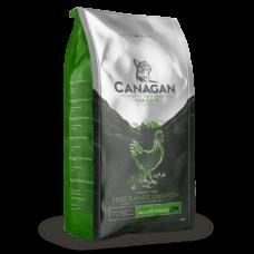 CANAGAN Grain Free, Free-Range Chicken, корм для кошек всех возрастов и котят, Цыпленок - 4 кг