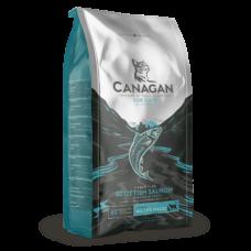 CANAGAN Grain Free, Scottish Salmon, корм для кошек всех возрастов и котят, Шотландский лосось - 1.5 кг