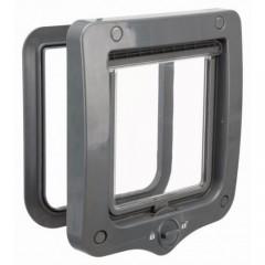 Дверца для кошки 2-Way, 20 х 22 см, серый