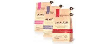 Сухие низкозерновые корма для кошек GRANDORF - Rich & Sensitive (Бельгия)