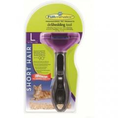 Фурминатор для кошек больших короткошерстных пород -  FURminator Short Hair Large Cat - 7 см