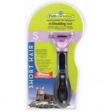 FURminator для кошек маленьких короткошерстных пород - Short Hair Small Cat - 4см