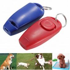 Кликер для дрессировки собак со свистком