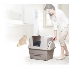 Закрытый туалет для кошек SMART SIFT